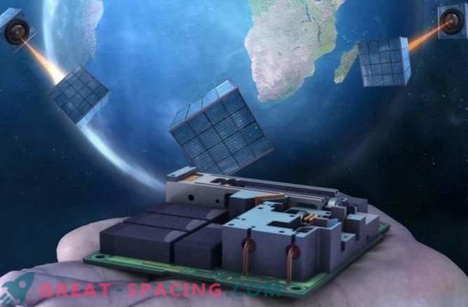 Un minuscule satellite est la première étape vers un réseau quantique mondial
