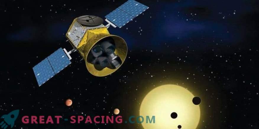 TESS capture une comète avant le début de la recherche scientifique