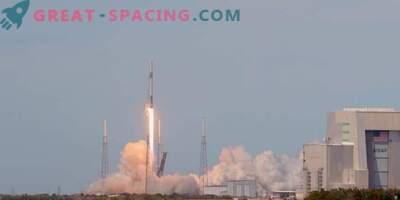 Départ pour le vaisseau spatial Dragon