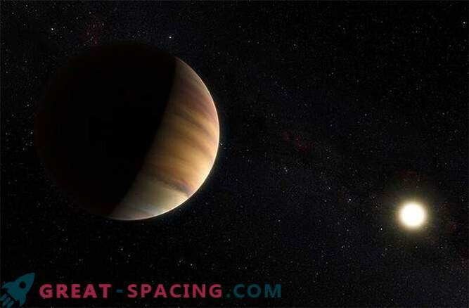 Exoplanet first discovered due to light reflected from it
