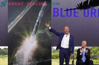 Amazonase asutaja Jeff Bezos käivitab kosmose raketid Floridast.