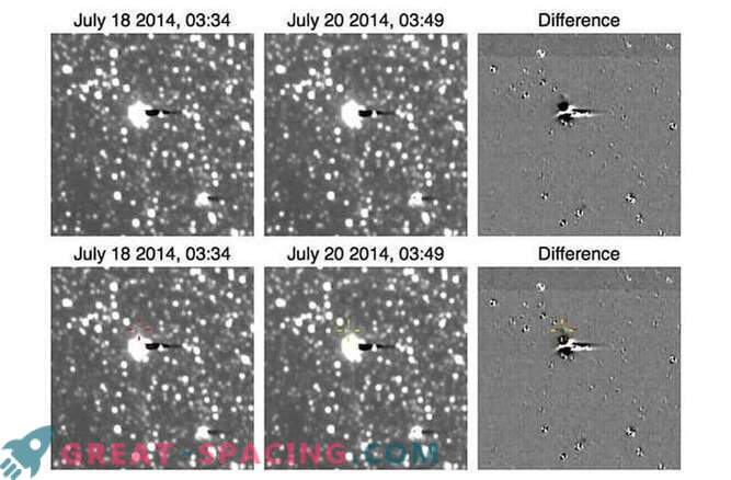 La mission New Horizons photographiée par satellite Pluton Hydra