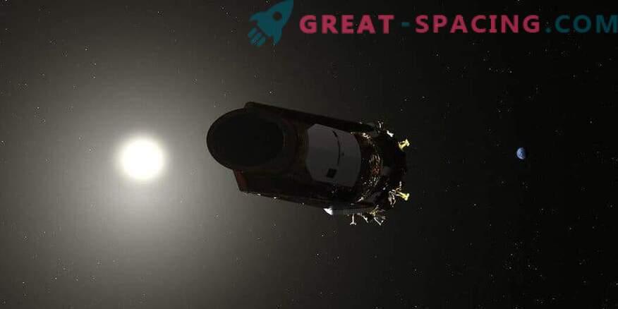 Kepler rymdfarkoster närmar sig uppdragets fullbordande